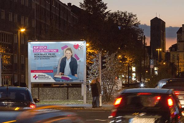 Klinikum Bremerhaven Werbekampagne