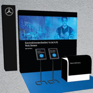 Digitaler Messestand Daimler Bremen