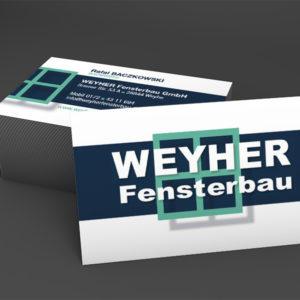 Flyer Weyher Fensterbau Bremen