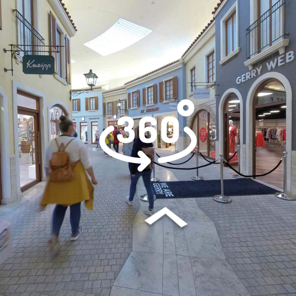 360-Grad-Rundgang Mein Outlet Bremerhaven