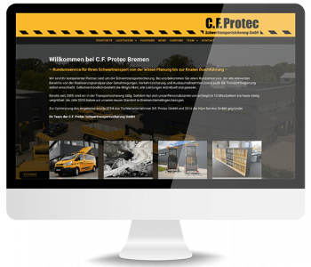 C.F. Protec Website