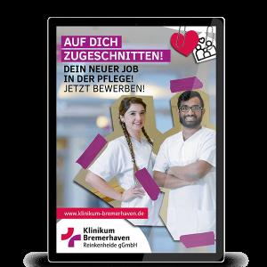 In-App-Kampagne Klinikum Bremerhaven
